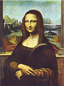 モナリザの油絵