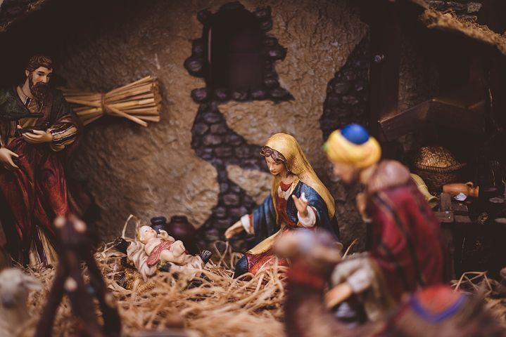 子供を産んだマリア