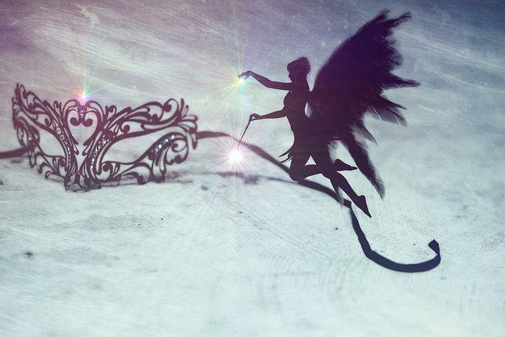 魔法をかけてくれる妖精