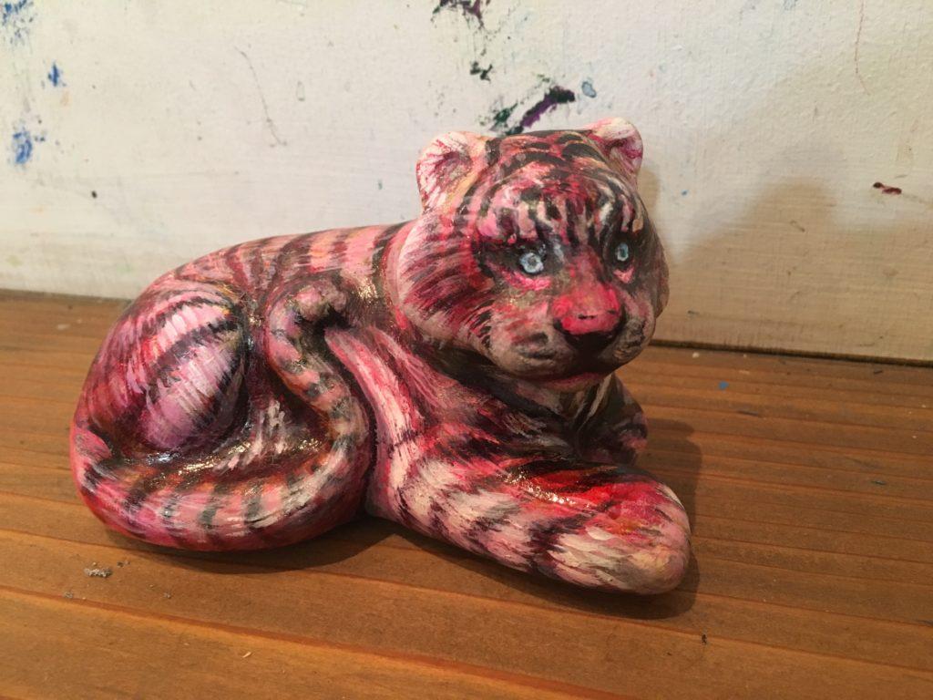陶器の虎リメイク